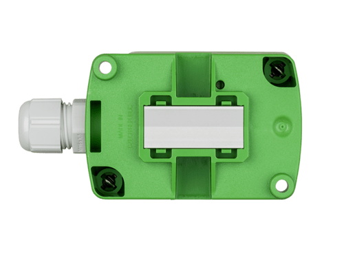 EE441 strap-on temperature sensor with aluminum contact surface